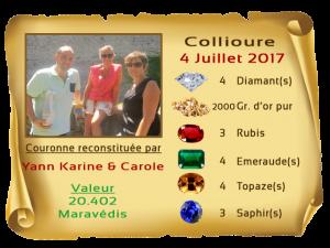 vainqueurs Collioure 4 Juillet 2017