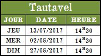 Calendrier Tautavel 2017b