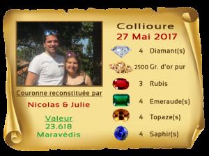vainqueurs Collioure II 27 Mai 2017