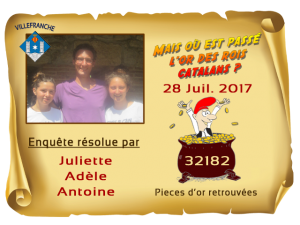 Enquete Villefranche résolue 28 JUL 17