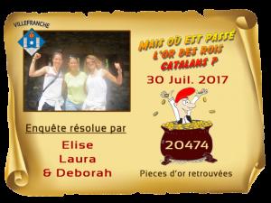 Enquete Villefranche résolue 30 JUL 17