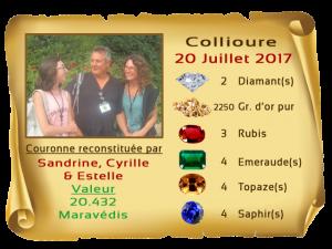 vainqueurs Collioure II 20 JUL 2017e