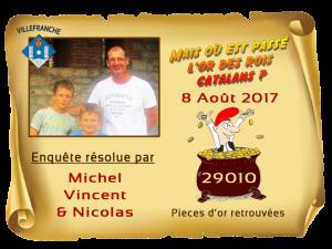 Enquete Villefranche résolue 8 Aout 2017