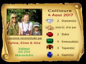 vainqueurs Collioure II 4 Aout 2017