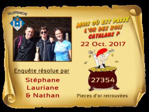 Enquete Villefranche résolue 22 Oct 2017